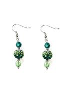 www.sayila.co.uk - DoubleBeads Mini Jewelry Kit earrings ± 4,5cm with SWAROVSKI ELEMENTS - E02666