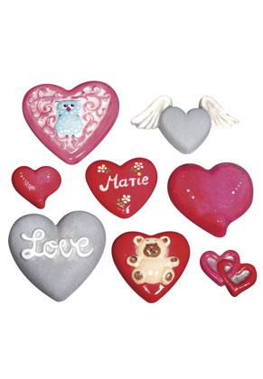 www.sayila.es - Rayher molde sintética corazones