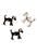 www.sayila.es - Colgantes de metal perro 30x26mm