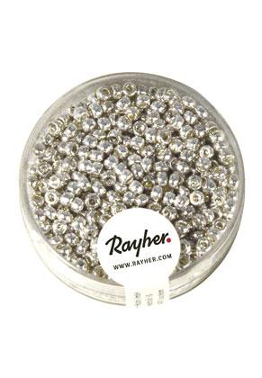 www.sayila-perlen.de - Rayher glas Rocailles 8/0 3x2,6mm