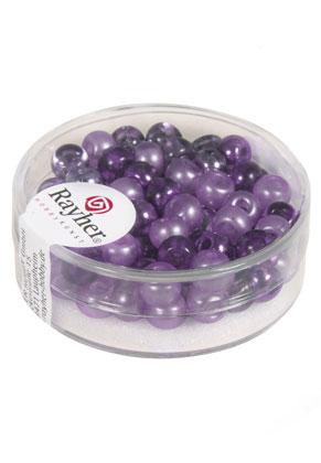 www.sayila-perles.be - Rayher mélange de rocailles/perles pour broder en verre 5,5x4mm (80 pcs.)