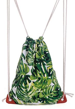 www.sayila.com - Backpack with leafs 39x33cm