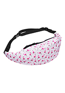 www.sayila.com - Bum bag with flamingo's - F06238