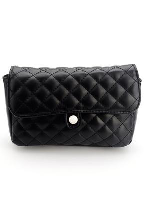 www.sayila.com - Imitation leather bum bag/shoulder bag quilted
