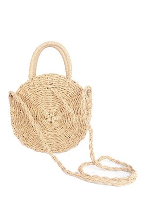 www.sayila.com - Straw shoulder bag 33x23cm