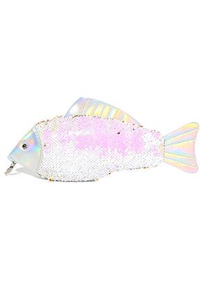 www.sayila.es - Bolso de mano con lentejuelas reversibles pescado 32x12cm