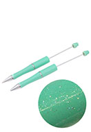 www.sayila.co.uk - Synthetic/metal beadable pens 15cm - J03695
