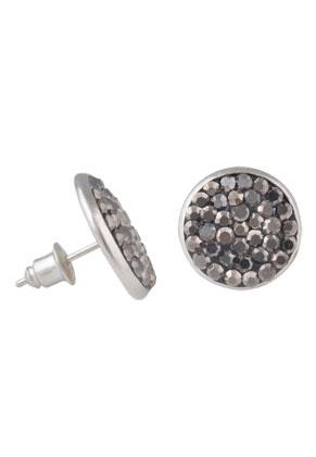 www.sayila.com - Metal ear studs with strass 16x15mm