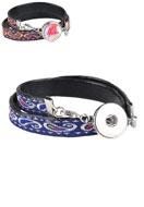 www.sayila-perlen.de - DoubleBeads EasyButton Wickelarmbänder 18cm - J03886