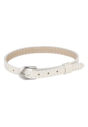 www.sayila.nl - Imitatieleren armband 15-19cm (geschikt voor schuifkralen)