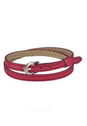 www.sayila-perlen.de - Kunstleder Wickelarmband 15-17cm (geeignet für Schiebeperlen)