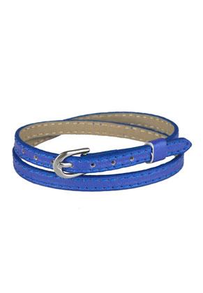 www.sayila.com - Imitation leather wrap bracelet 15-17cm (suitable for slide-beads)