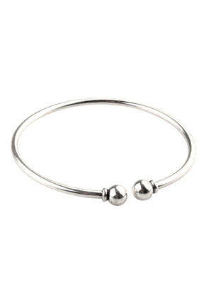www.sayila.com - Metal bracelet with removable ball-clasp 20cm