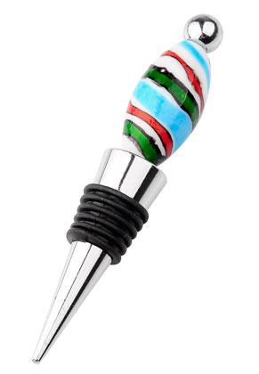 www.sayila.com - Metal beadable bottle stopper 12x2cm