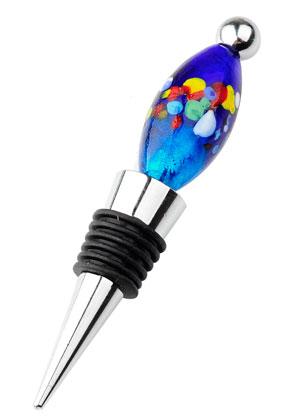 www.sayila.es - Tapón de la botella de metal para abalorios 12x2cm