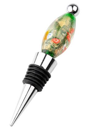 www.sayila.nl - Metalen flessenstop voor kralen 12x2cm