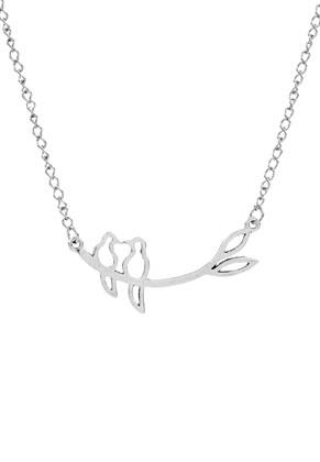 www.sayila.es - Collar con tórtolas en la rama 57cm