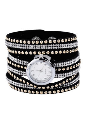 www.sayila.com - Watch bracelet with strass 16-18cm