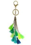www.sayila-perlen.de - Schlüsselanhänger mit Quasten 22cm - J04207