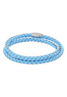 www.sayila.com - Leather wrap bracelet 19cm - J04219