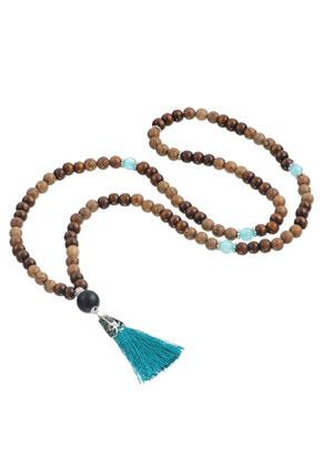 www.sayila.es - Collar Mala con borla 80cm