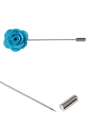 www.sayila.fr - Épingle de cravate avec fleur 90x28mm