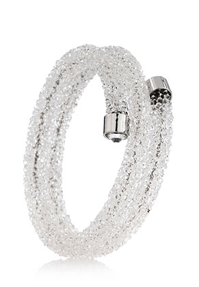 www.sayila.es - Pulsera bangle/brazalete con strass 19cm