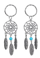 www.sayila.com - Dreamcatcher key fob - J04380