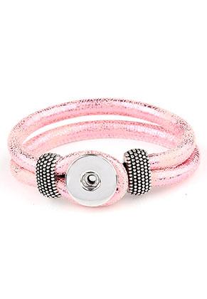 www.sayila.com - DoubleBeads EasyButton imitation leather bracelet 18cm