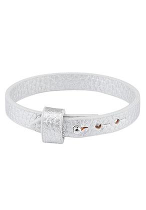 www.sayila-perlen.de - Kunstlederarmband 17-19cm (geeignet für Schiebeperlen)