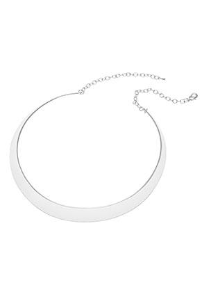 www.sayila.fr - Collier rigide en métal 43cm