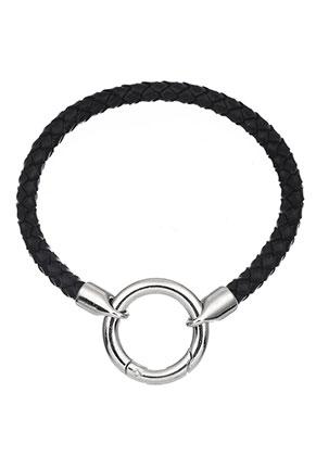 www.sayila.nl - EasyClip leren armband 19cm