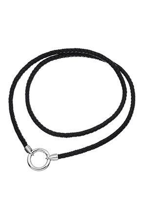 www.sayila.com - EasyClip leather necklace 80cm