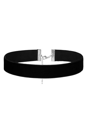 www.sayila.be - Fluwelen choker 28-34cm, 2cm breed