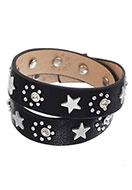 www.sayila.es - Pulsera enrollada con strass y estrellas 17-19cm - J04467