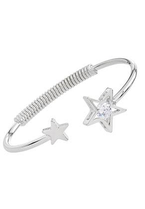 www.sayila.com - Cuff bracelet with star 17,5cm