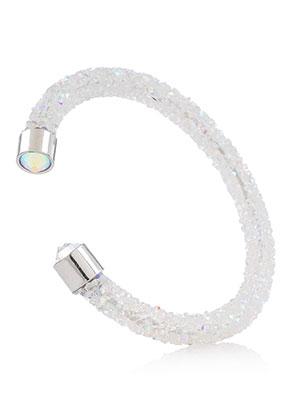 www.sayila.nl - Strass cuff armband 17cm