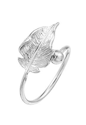 www.sayila.com - Brass ring leaf >= Ø 17mm