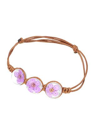 www.sayila-perlen.de - Armband mit Gießharz Trockenblumen Perlen 14-21cm