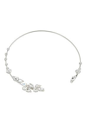 www.sayila.es - Collar rígido de brass y strass 35,5cm