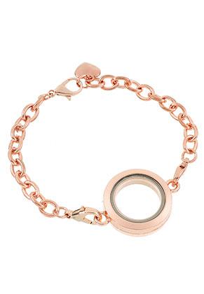 www.sayila.nl - Armband met Floating Charm Locket 20cm