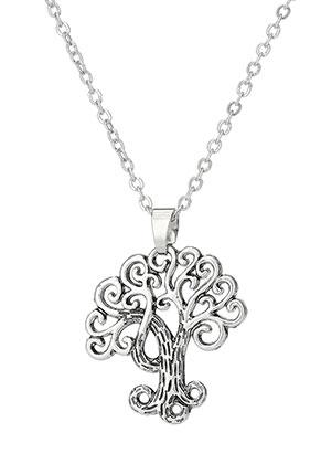 www.sayila.com - Necklace with pendant tree 45-51cm