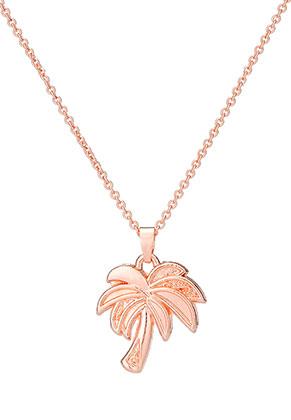 www.sayila.es - Collar con colgante palmera 45-51cm