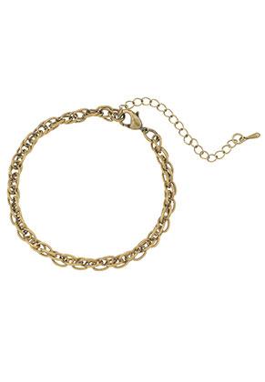 www.sayila.com - Metal bracelet 18-24cm
