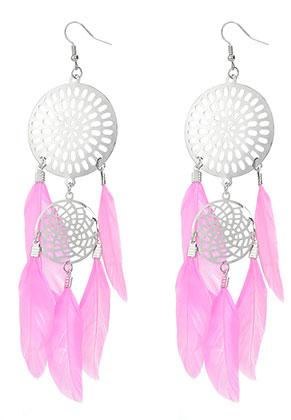 www.sayila.com - Dreamcatcher earrings 15x4cm