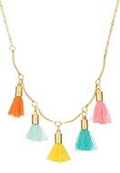 www.sayila-perlen.de - Halskette mit Quasten 45-50cm - J04954