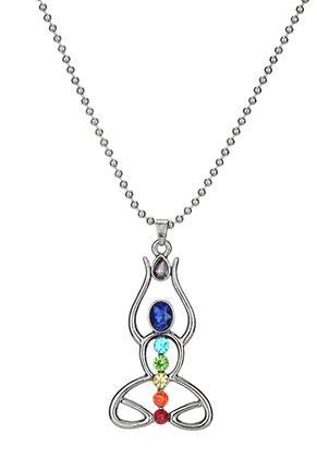 www.sayila.es - Collar con colgante meditación Chakra 70cm