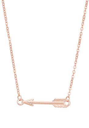 www.sayila-perlen.de - Halskette mit Pfeil 50-56cm