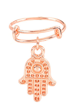 www.sayila.be - Brass ring met hand van Fatima >= Ø 17mm