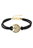 www.sayila.com - Bracelet with tree 19-24cm - J05226